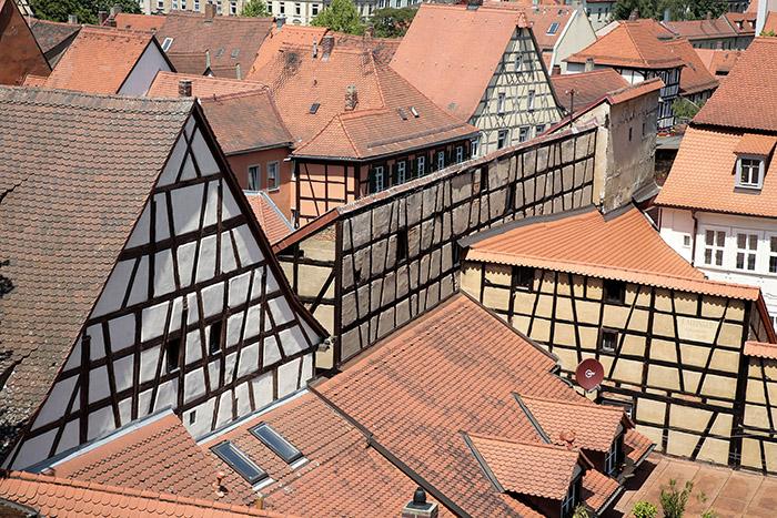 Blick vom Rosengarten. Foto: Erich Weiß