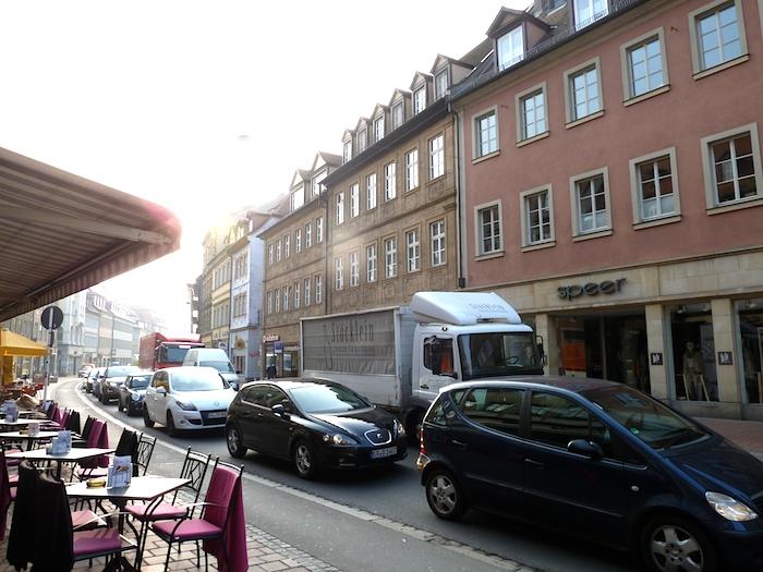 Lange Straße Verkehrssituation. Foto: Christiane Hartleitner