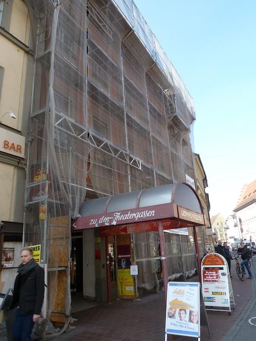 Lange Straße Eingang Theatergassen. Foto: Christiane Hartleitner