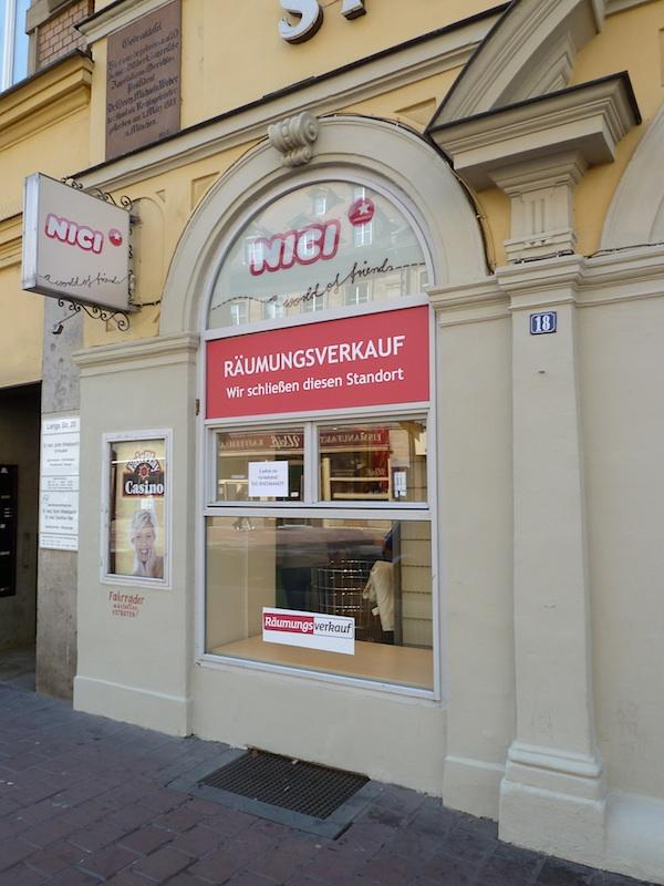 Lange Straße, Leerstand . Foto: Christiane Hartleitner