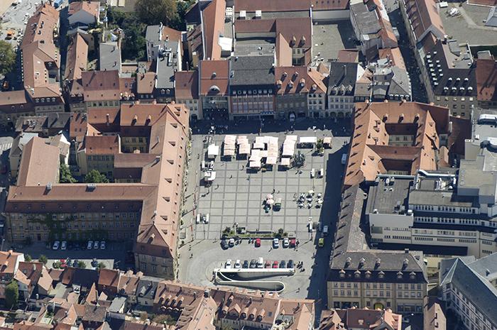 Maxplatz. Foto: Erich Weiß