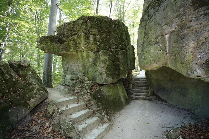 Felsengarten Sansparail. Foto: Erich Weiß