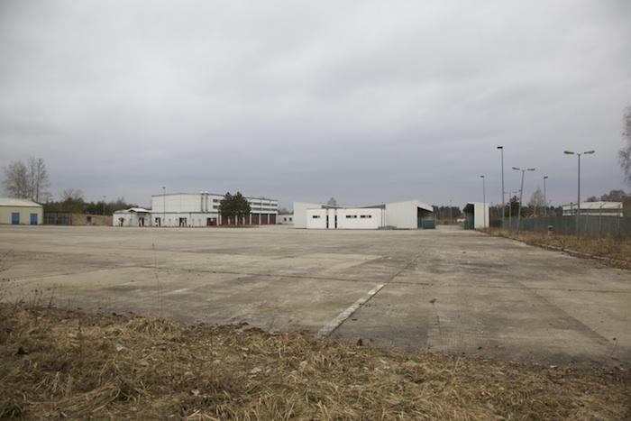 Mögliche Gewerbegebäude und -flächen auf dem Konversionsgelände. Foto: Erich Weiß