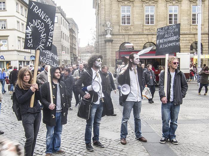 Aktionstag gegen TTIP. Foto: Erich Weiß