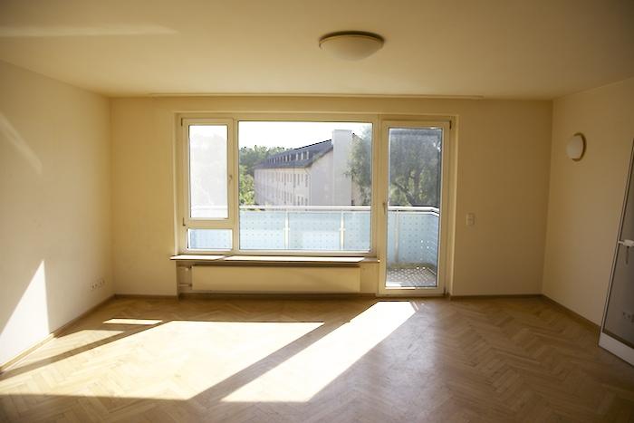 Wohnzimmer / Konversionsgelände. Foto: Erich Weiß