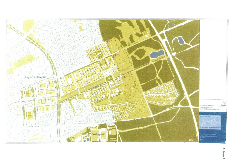 Optionsflächen im Rahmenplan 2035