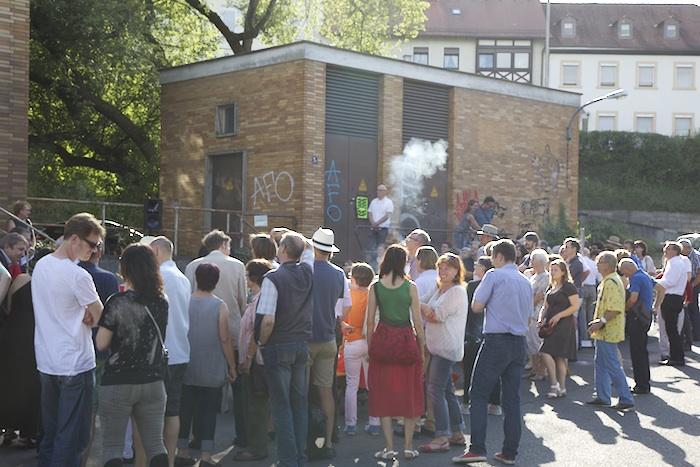 Rauchzeichen. Foto: Erich Weiß