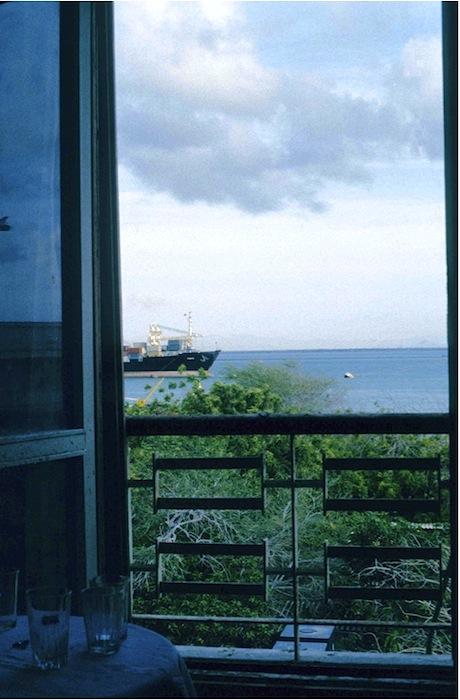 Ausblick vom Hotelfenster in Aden