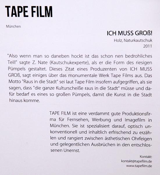 """""""Ich muss groß"""" / Kontakt-Festival 2015 auf dem Konversionsgelände. Foto: Erich Weiß"""