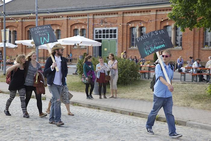 Kontakt-Festival 2015 auf dem Konversionsgelände. Foto: Erich Weiß
