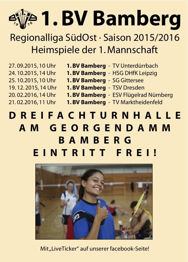 BVBamberg_Heimspiele 2015