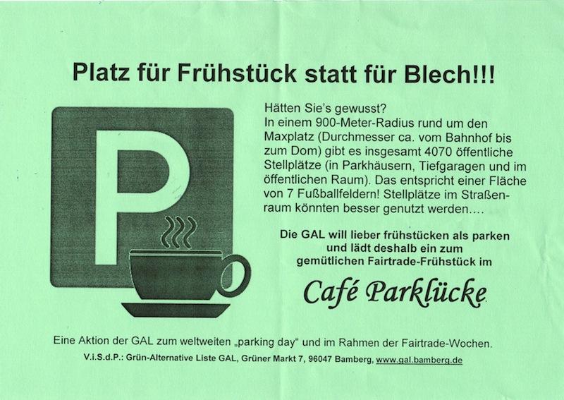 Cafe Parklücke