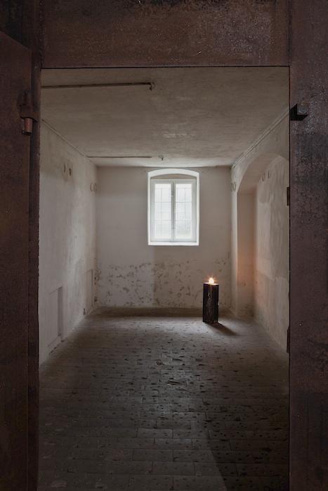 Blick in die ehemalige Gaskammer der Tötungsanstalt Pirna-Sonnenstein. Foto: Jürgen Lösel