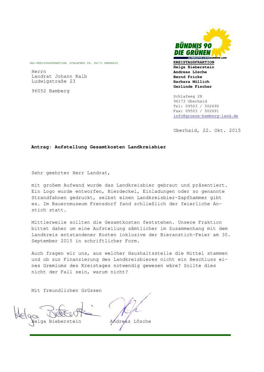 Antrag Kosten Landkreisbier 2015-10