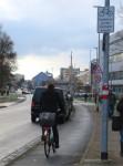 Trotz vorhandenem Radweg – hier ist Radfahren ausdrücklich auch auf der Straße erlaubt (Foto: Stadt Bamberg/Stadtplanungsamt)
