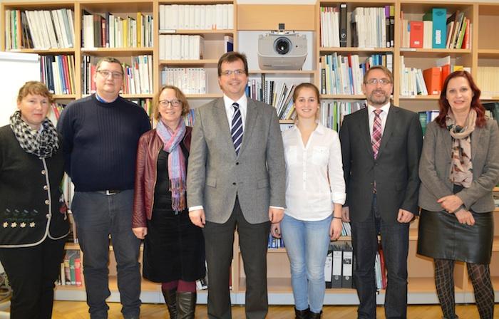 von links: Anita Schmidt, Oliver Will, Anne Renz-Sagstetter, Dr. Christian Lange, Katrin Jakisch, Dr. Matthias Pfeufer, Sybille Broll-Pape.