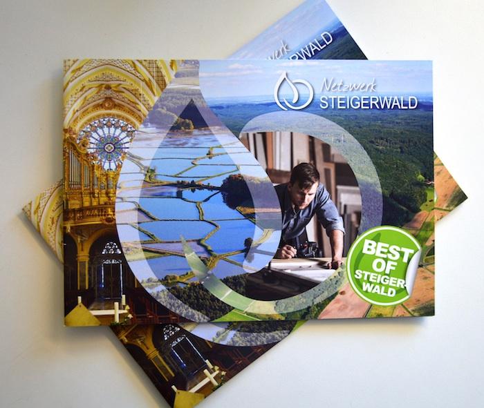 """Titelbild der Broschüre """"Best of Steigerwald"""" (Quelle: Landratsamt Bamberg)"""