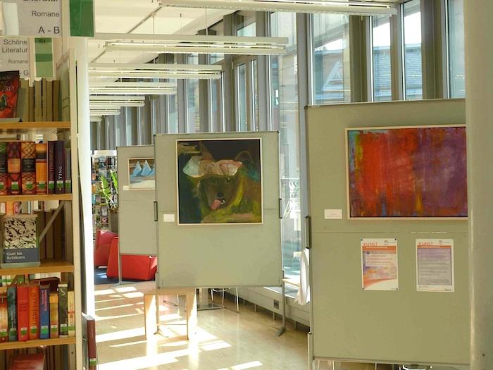 """Ausstellung der """"Inklusiven Kulturwerkstatt"""". Foto: Christiane Hartleitner"""