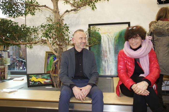 Karlheinz Beer und Christiane Hartleitner. Foto: Erich Weiß