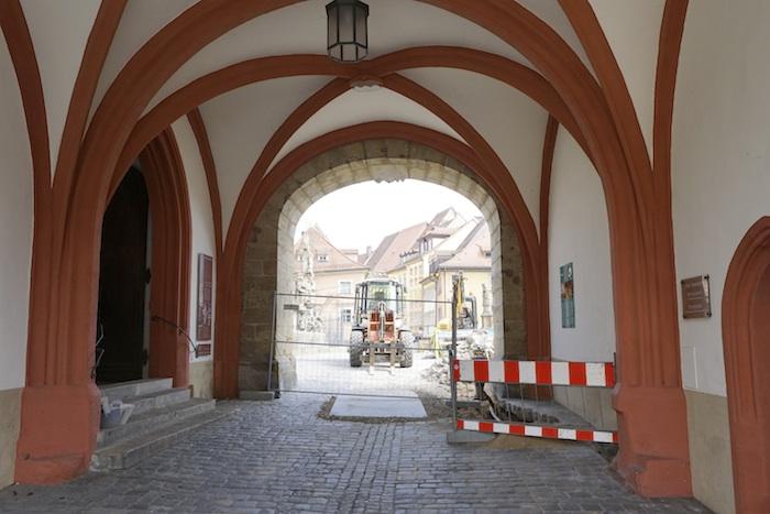 Obere Brücke, Eingang ins Museum. Foto: Erich Weiß