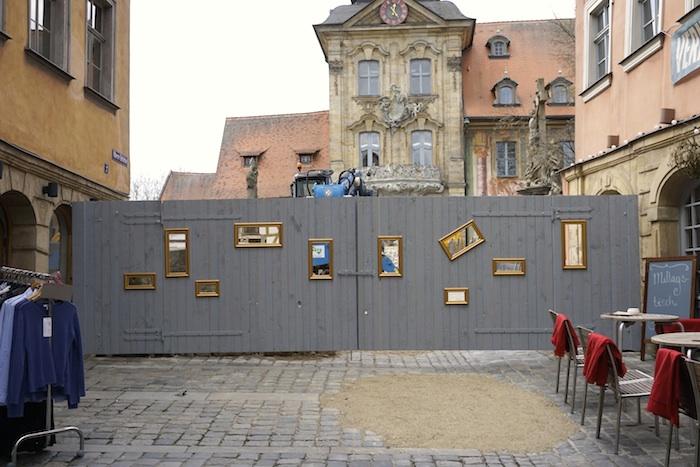Obere Brücke, Mittagstisch mit Bildergalerie. Foto: Erich Weiß