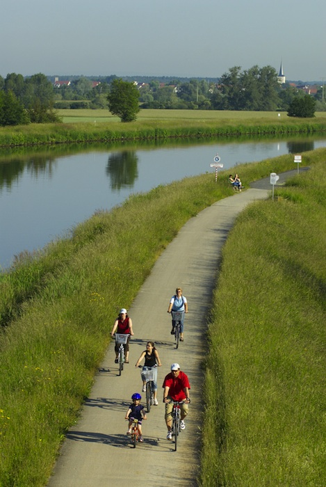 Radregion Landkreis Bamberg. Foto: A. Hub