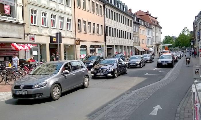 Die Lange Strasse, Mai 2016. Foto: ADFC