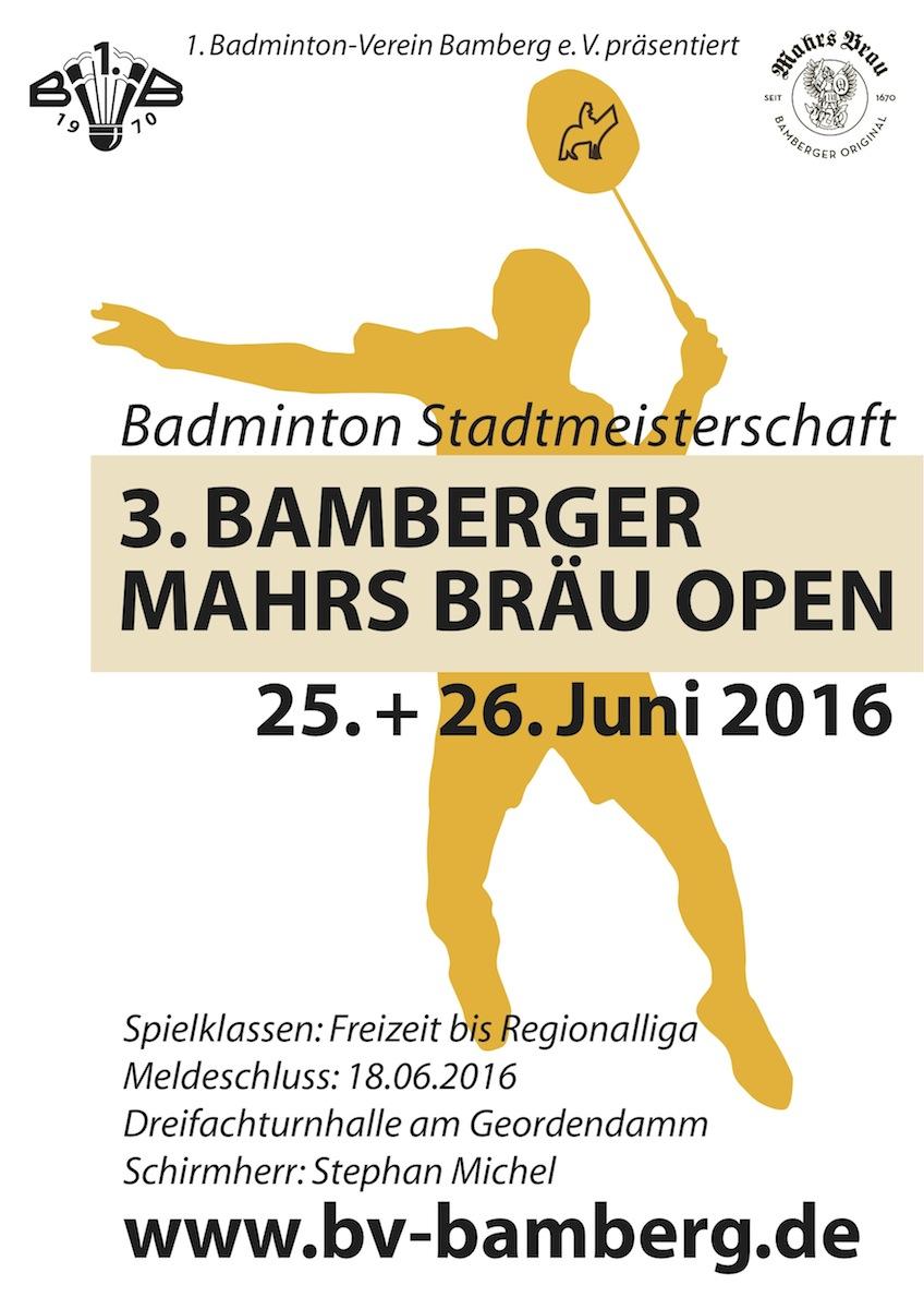 Batminton Stadtmeisterschaft 2016