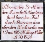 Gedenktafel an der Neuen Residenz Bamberg. Foto: You Xie