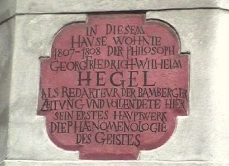 Hegel in Bamberg