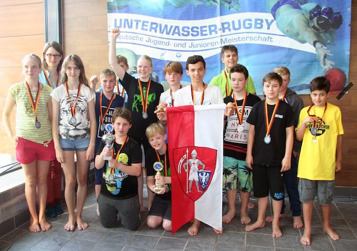 Die erfolgreichen Bamberger Kraken des TC Bamberg. Foto: Ariane Walcher