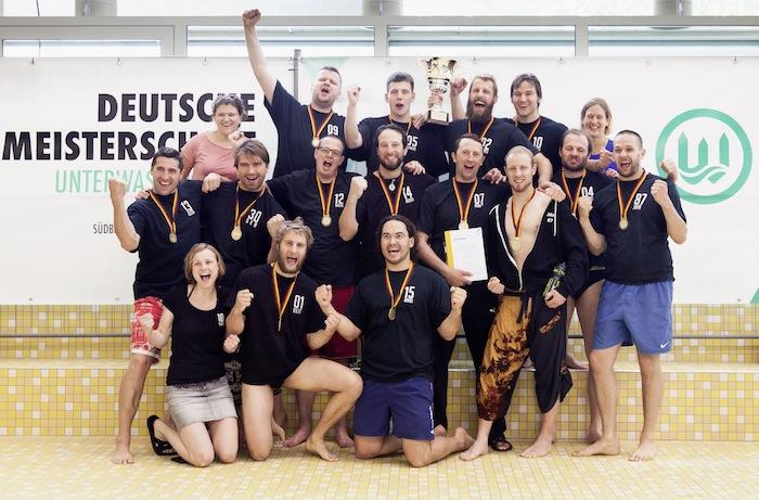 Die Siegermannschaft des TC Bamberg. Foto: Johannes Maas