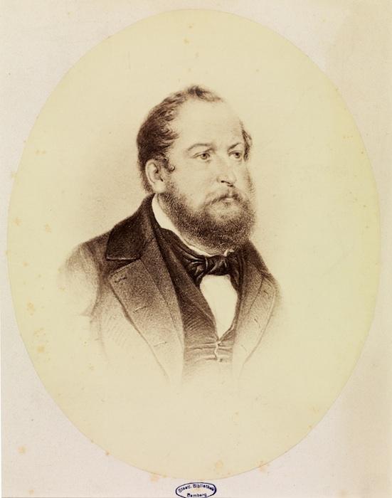 Dr. Heinkelmann. © Staatsbibliothek Bamberg / Gerald Raab, Bild 024