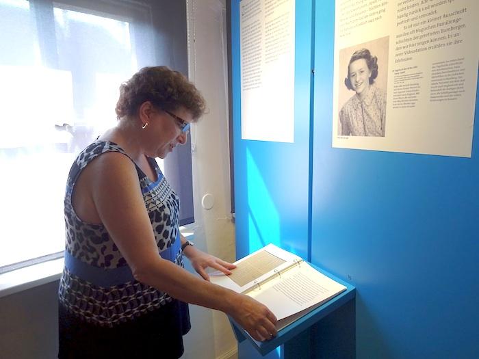 Barbara Steinberger im Historischen Museum