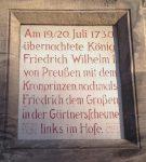 Gedenktafel am Anwesen Memmelsdorfer Straße 2c. Foto: You Xie