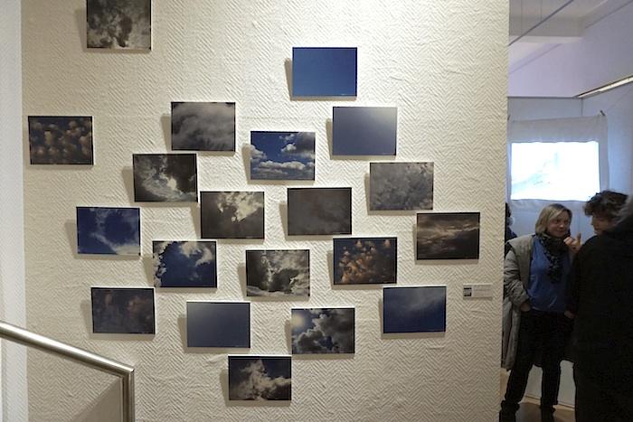 Himmel von Christiane Toewe. Foto: Erich Weiß