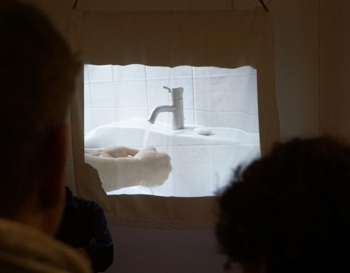 """""""Ich wasche meine Hände in Unschuld"""". Foto: Erich Weiß"""