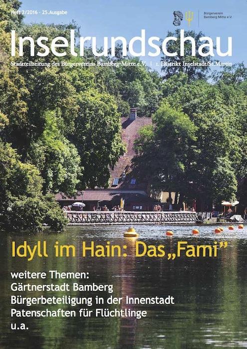 Titelbild Inselrundschau Nr. 2/2016