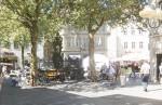 Blick von der Keßlerstraße auf den Gabelmann. Foto: Erich Weiß
