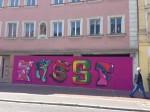 StreetArt-Graffiti-Kunst vom Jugendzentrum