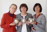 Der neue Vorstand des Richard Wagner Verbands, v.l.: Monika Beer, Jasenka Roth (1. Vorsitzende), Dietlinde Schunk-Assenmacher