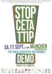 Stopp CETA u TTIP Großdemo 17 Sep Odeonsplatz München